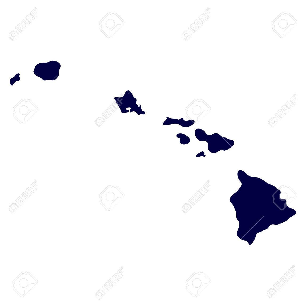U S ハワイ州の地図 ロイヤリテ...