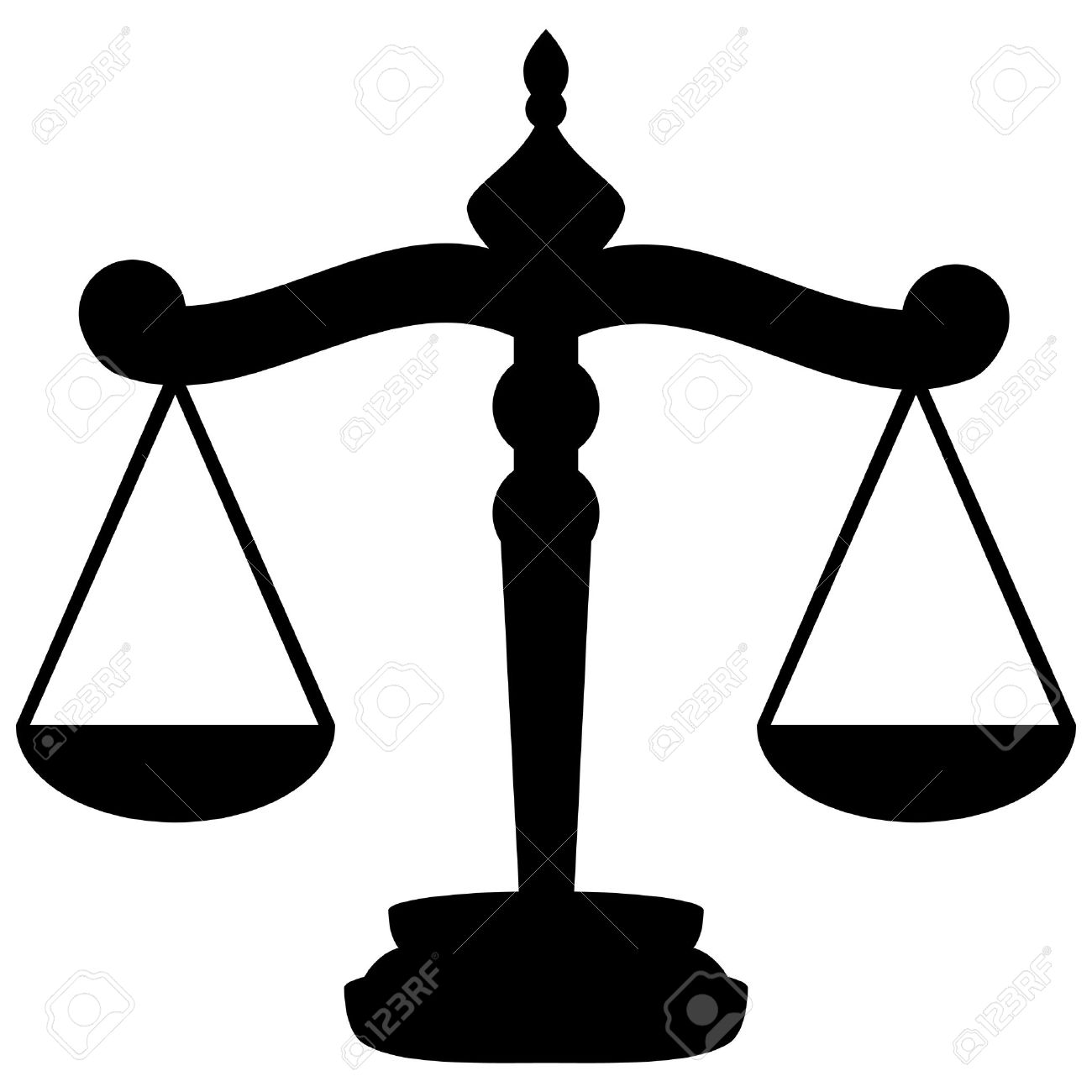 Balance Justice scales of justice royalty free cliparts, vectors, and stock