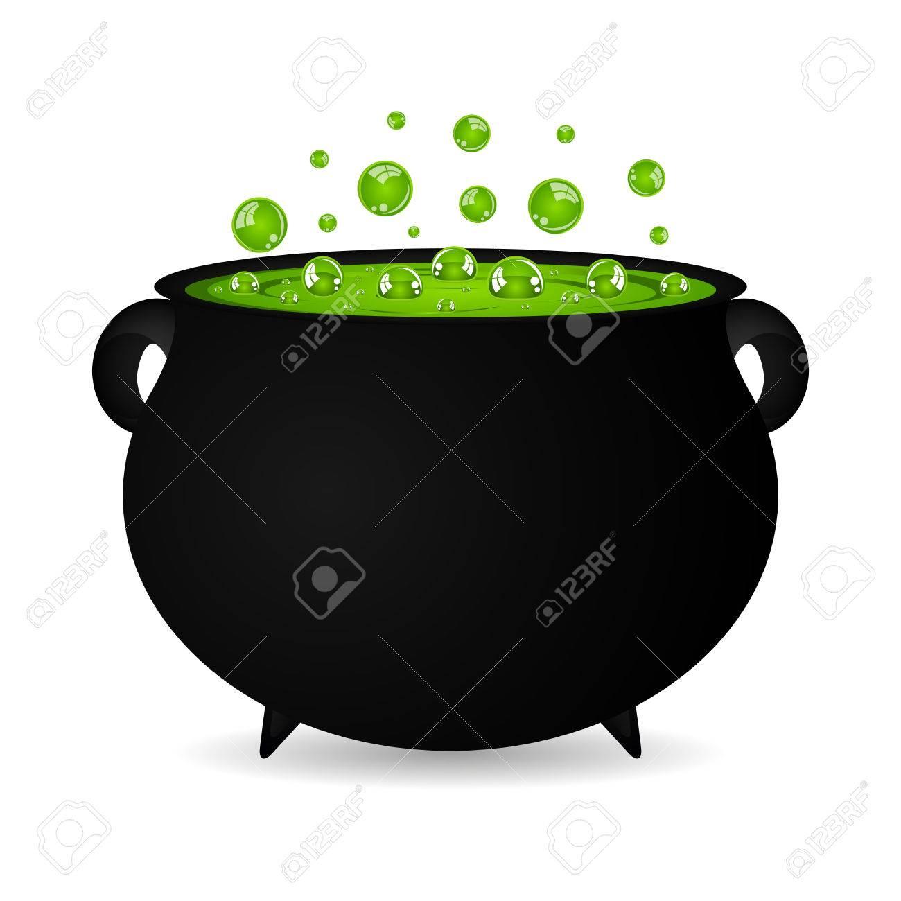 cauldron witches potion for Halloween - 31513284