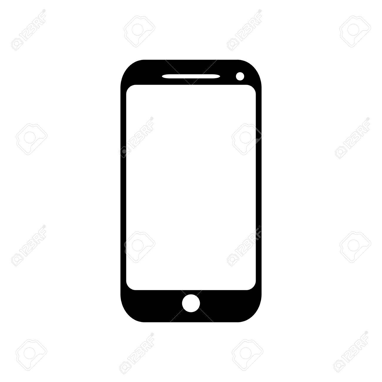 mobile phone icon - 32008848