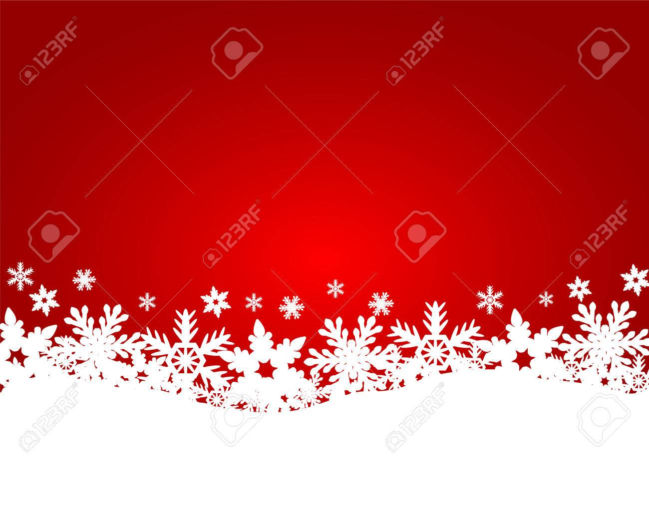 Christmas red background - 33952027