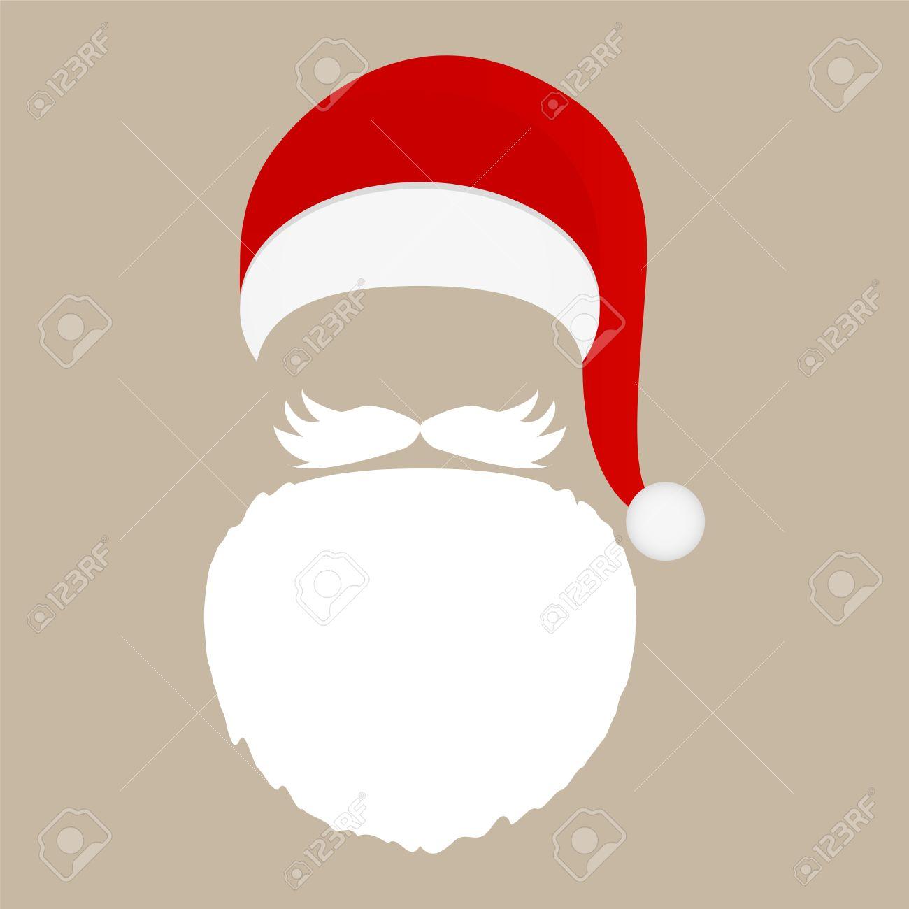 Bildergebnis für weihnachtsmann bart bild