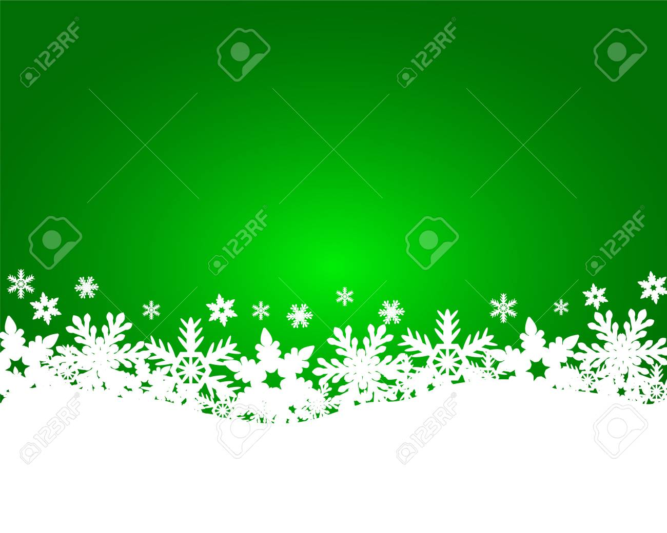 Christmas green background - 34069277