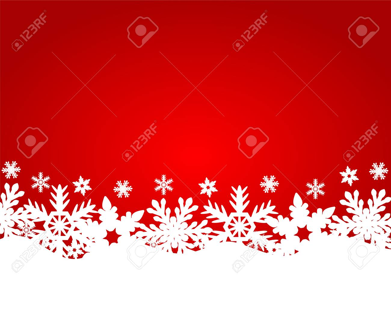 Christmas red background - 34268993