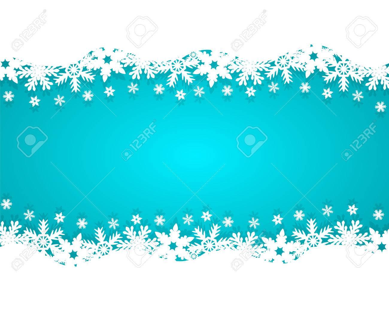 Christmas blue background - 34367332