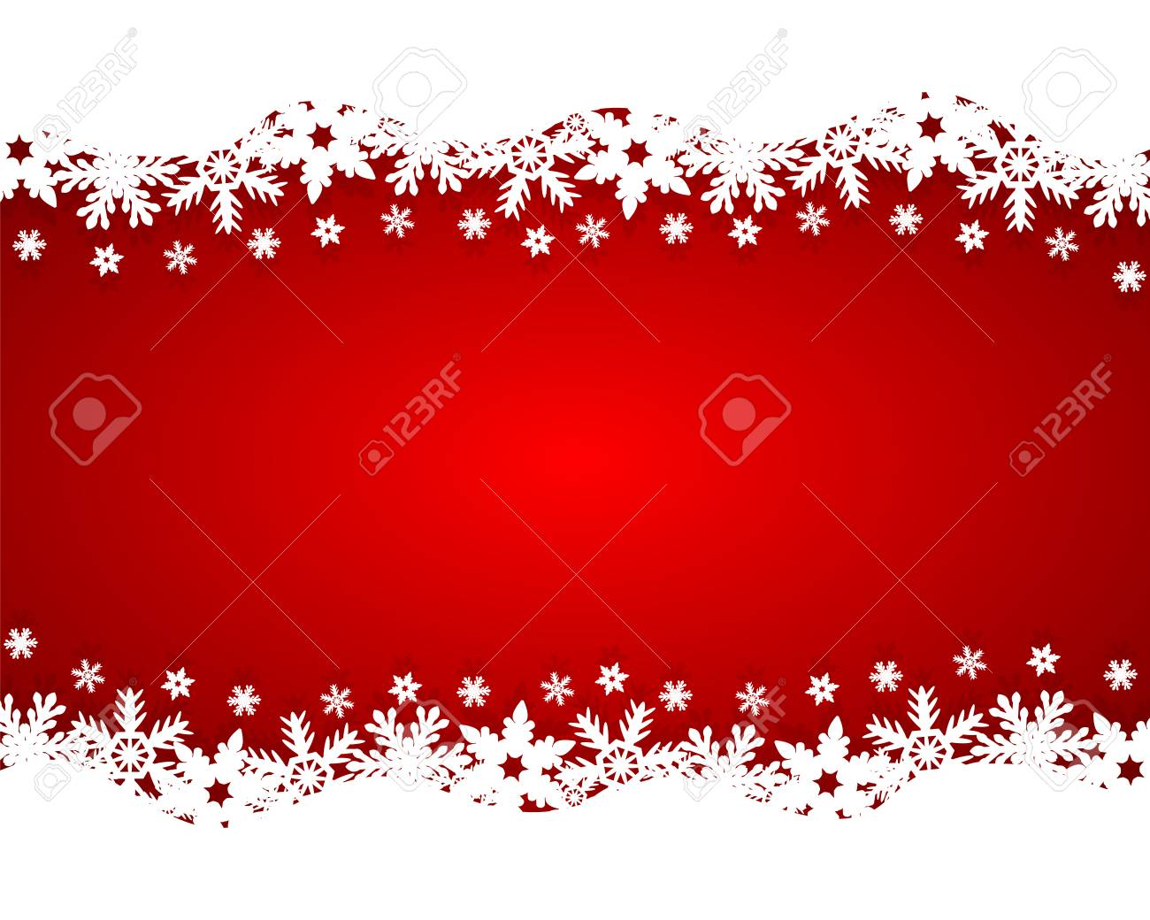 Christmas red background - 34423183