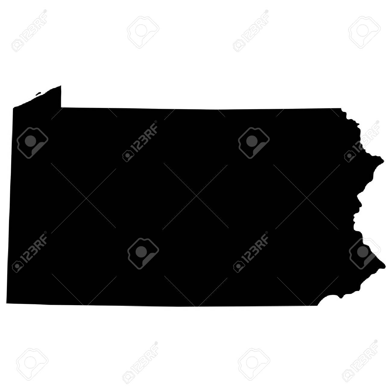 map of the U.S. state of Pennsylvania - 39242778