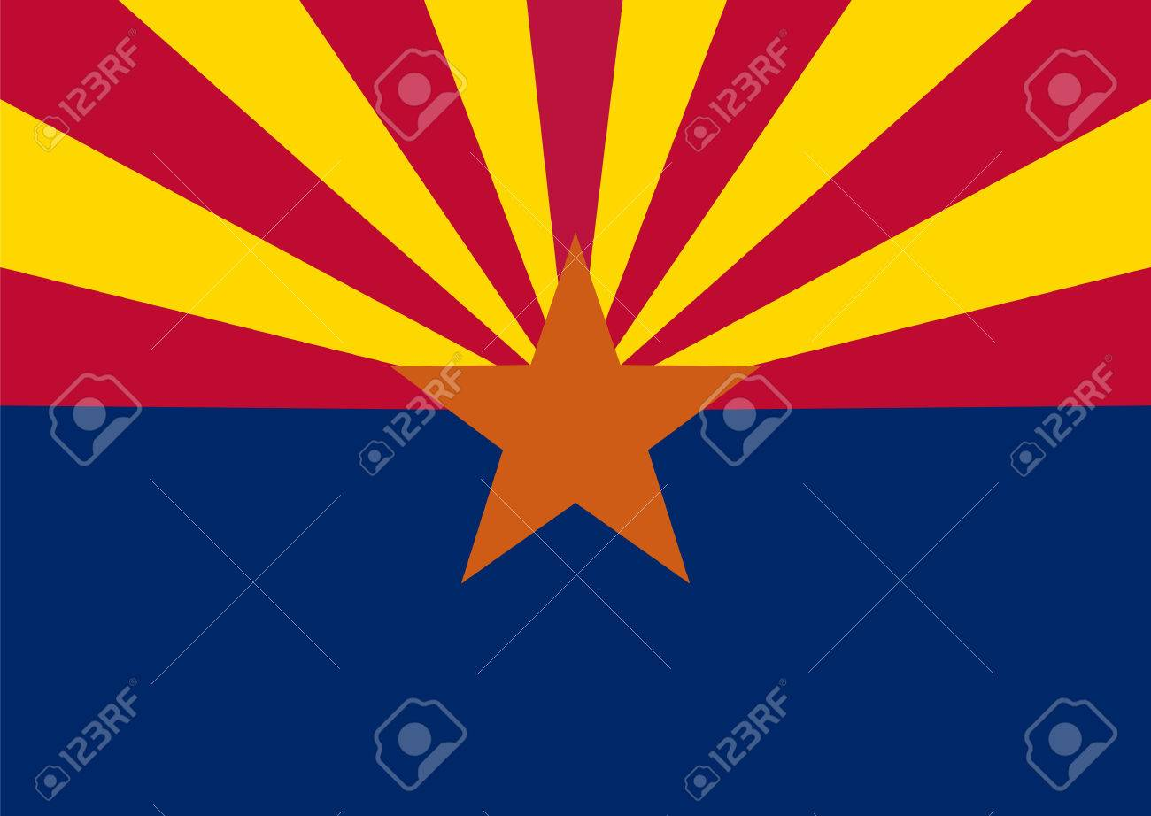 flag of the US state of Arizona - 42034608