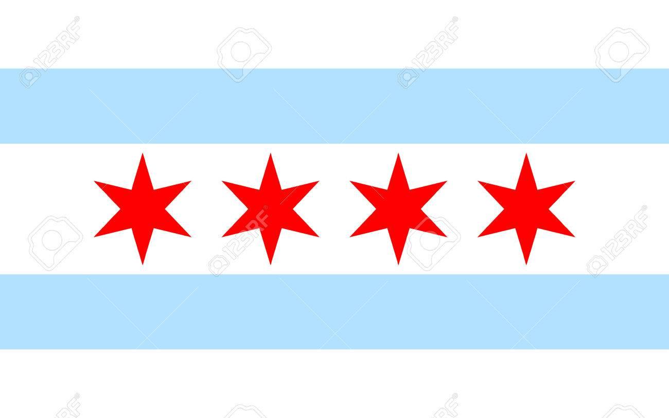 Chicago flag - 42138597