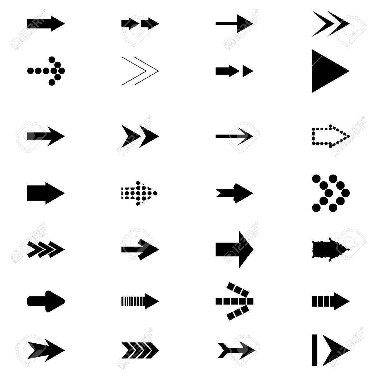 Set icons Arrows - 44264349