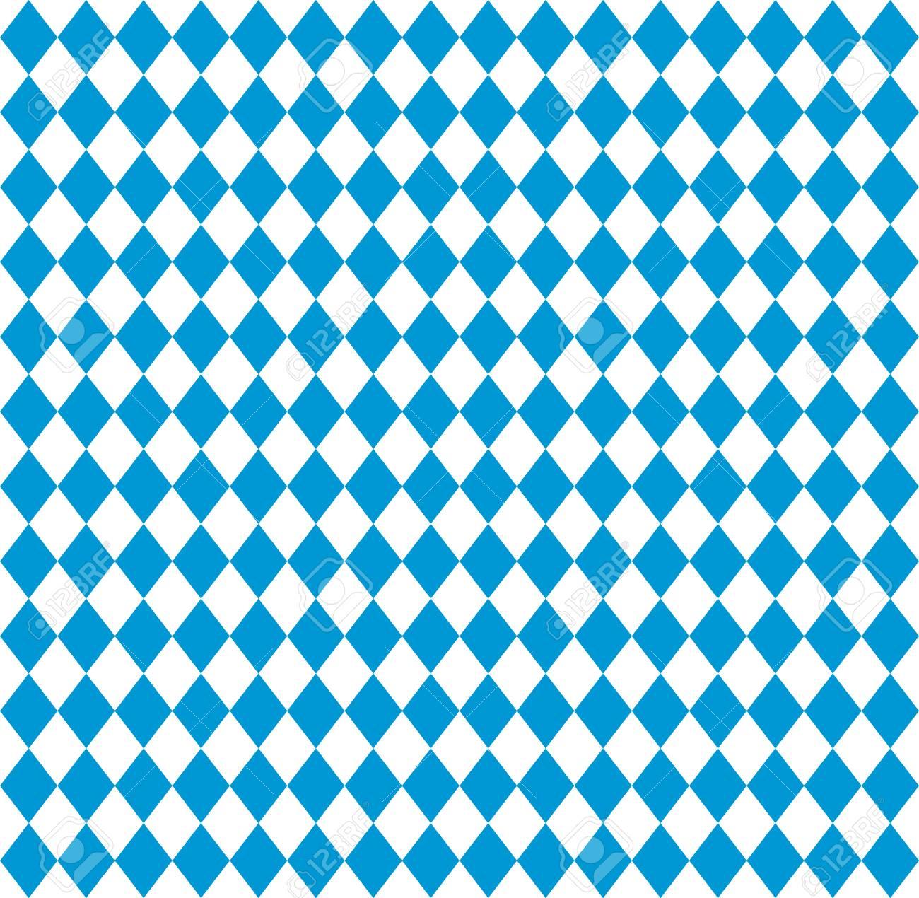 Oktoberfest Bavarian flag symbol background - 84364334