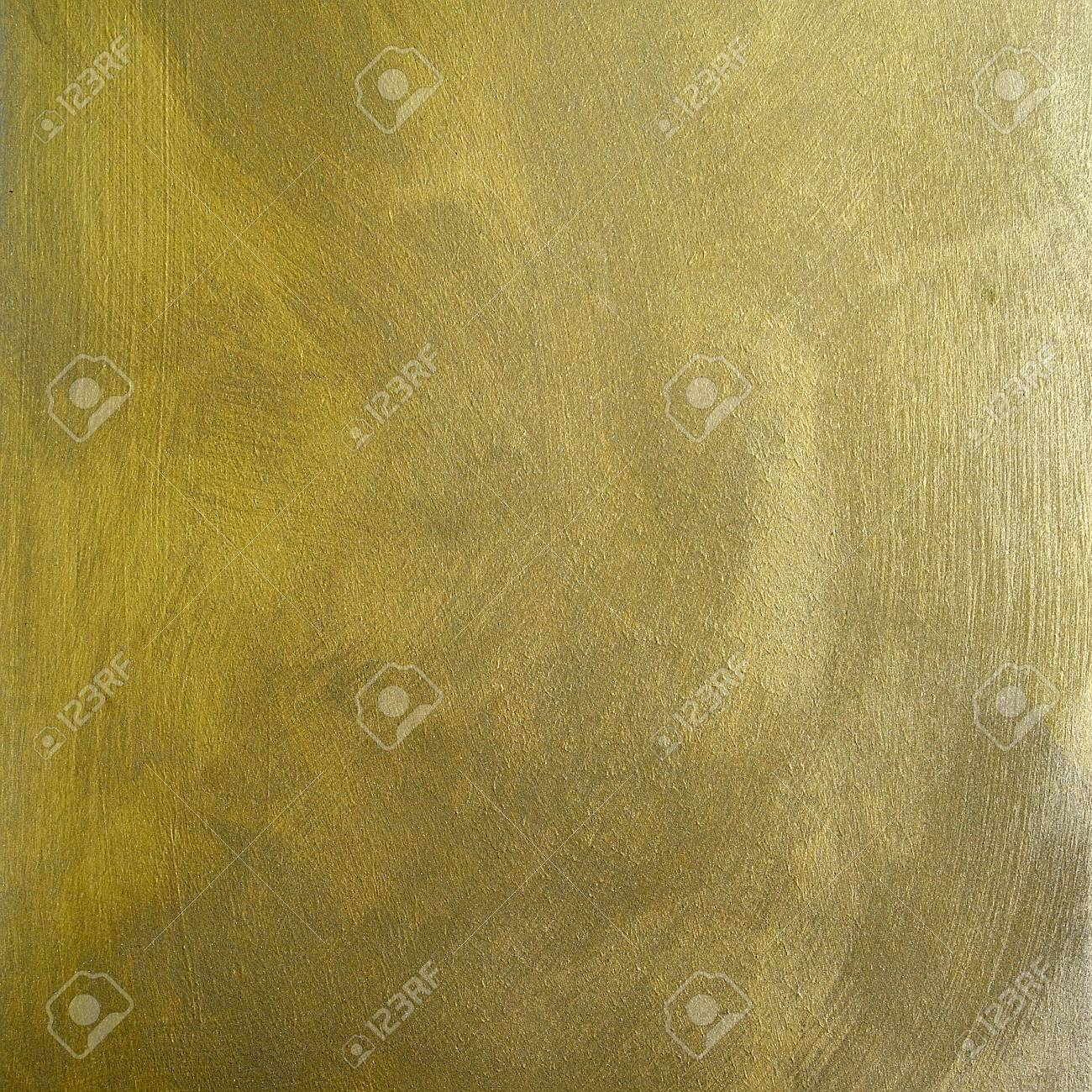 Decorative Plaster Surface With The Effect Of Gold With Nacre Stock ...