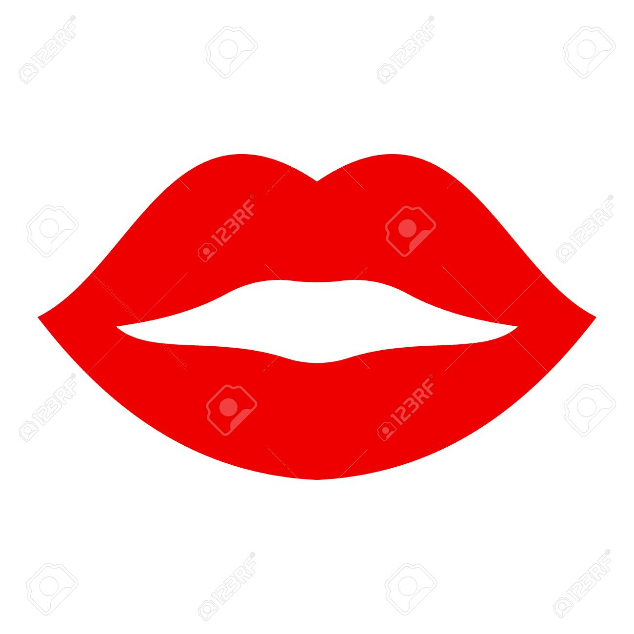 Kiss lip – stock vector - 101789029