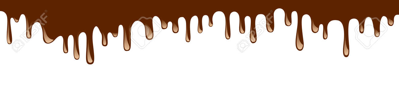Abstract chocolate background - vector - 158147905