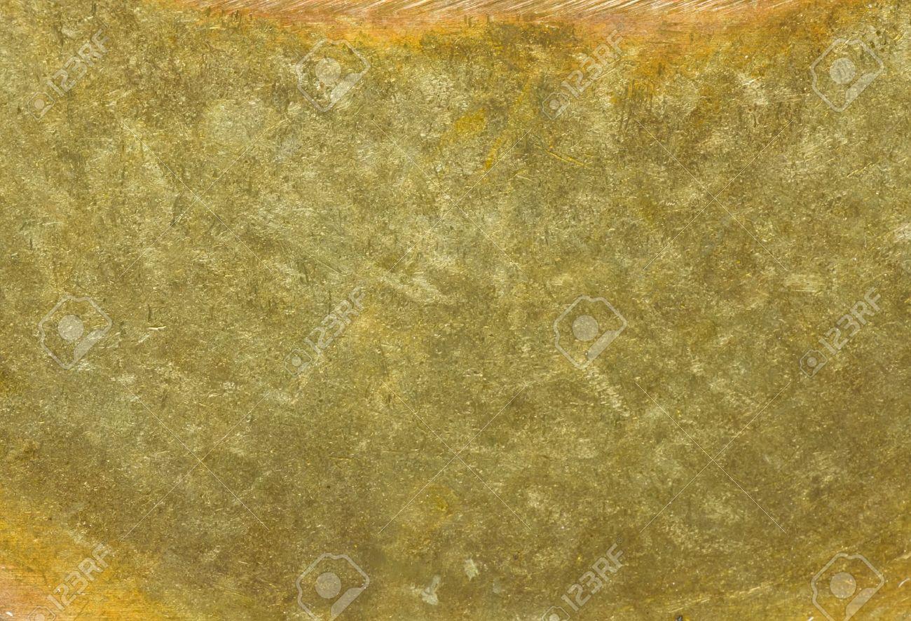 wallpaper texture of brass golden old metal Stock Photo - 5734732