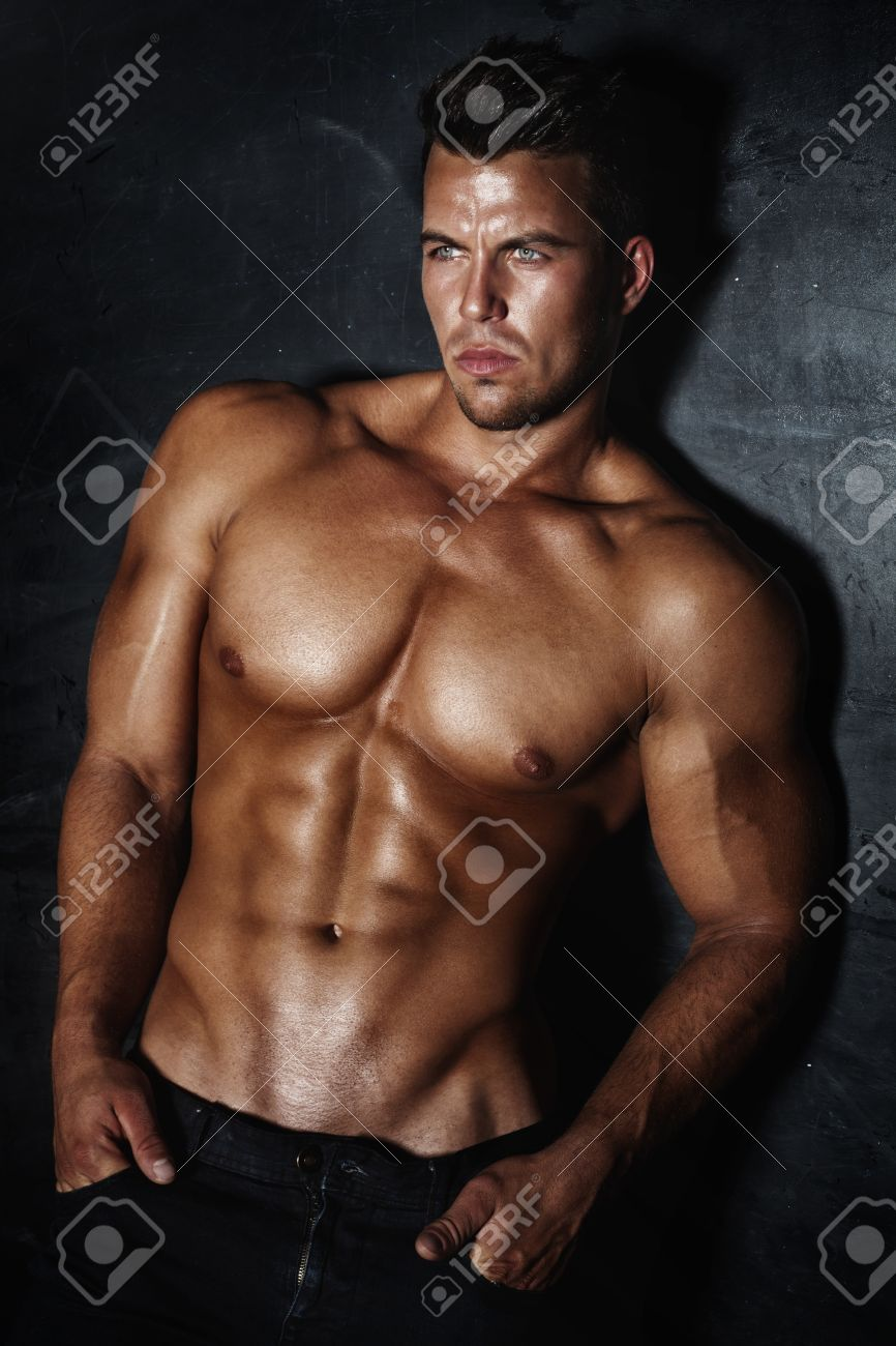 Hot sexy man model