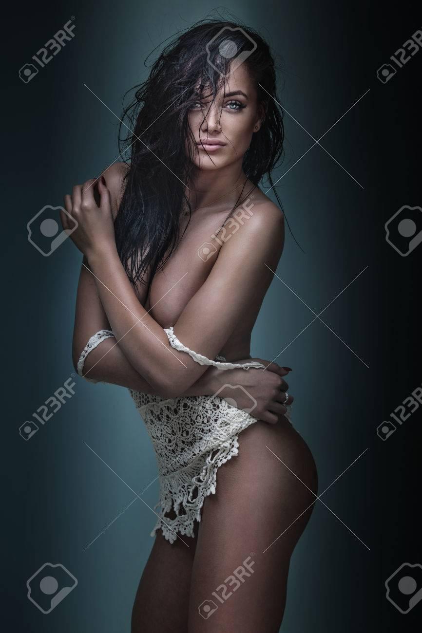 Beautiful nude curvy voluptuous women