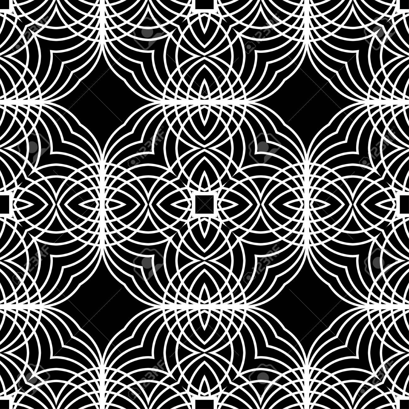 Marvelous Art Deco Pattern Seamless Background Geometric Design 1920 30S Download Free Architecture Designs Grimeyleaguecom