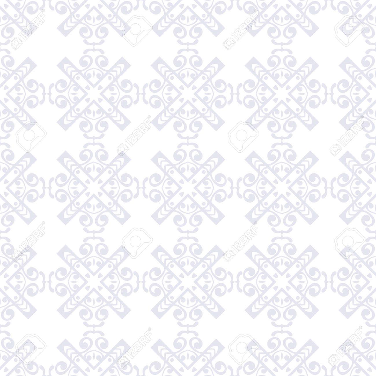 Seamless geometric modern art deco pattern background - 121471426