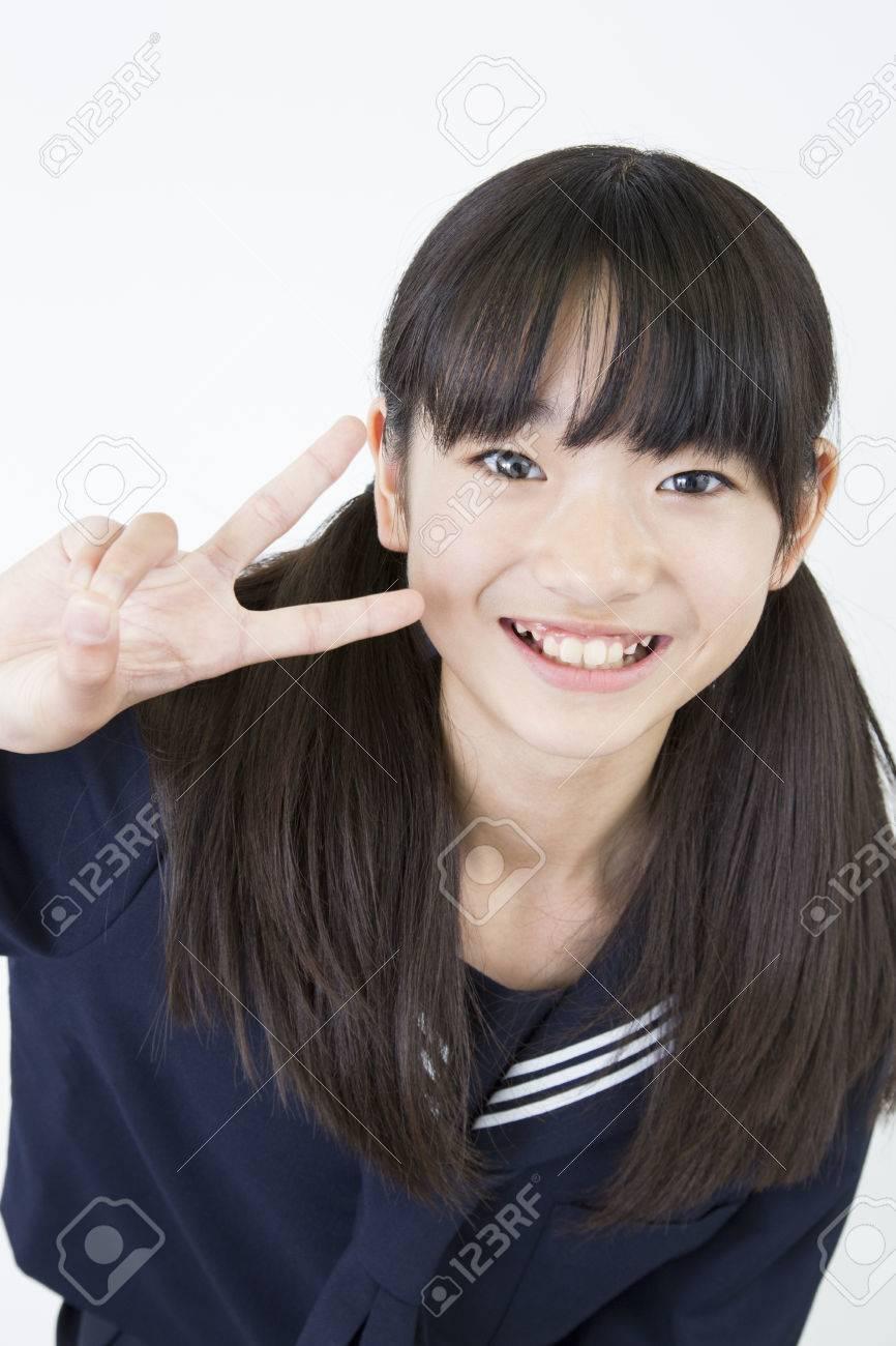 Lächelnd weiblichen <b>Junior High</b> School Schüler - 39881216-L-chelnd-weiblichen-Junior-High-School-Sch-ler-Lizenzfreie-Bilder