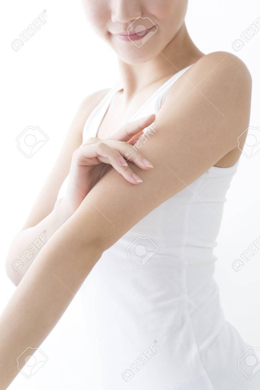 Arm frauen moonpabackspik: Amputierte