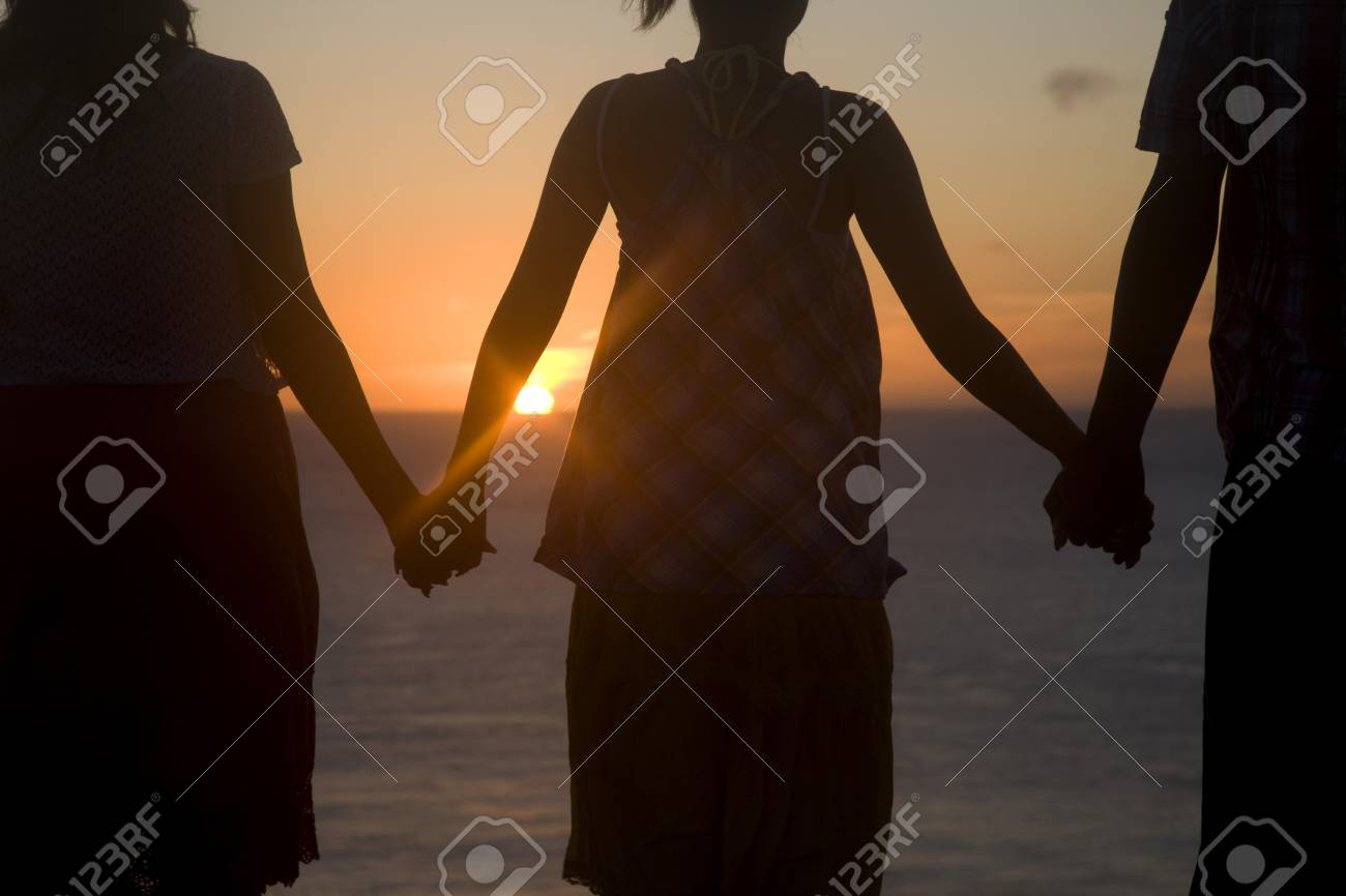 2 women with man Woman dies