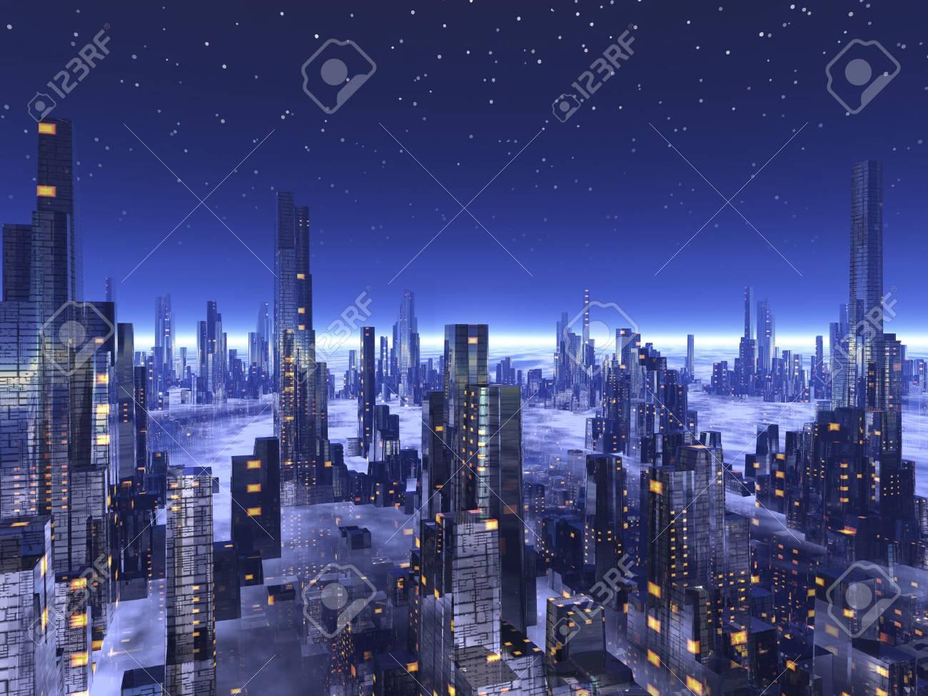 Future cities - 39822784