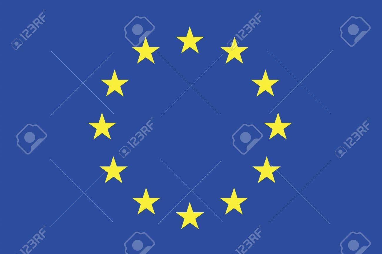 欧州共同体の旗 ロイヤリティー...