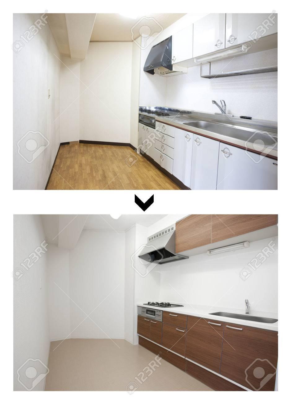 Wunderbar Bilder Von Vor Und Nach Den Küchen Fotos - Küche Set Ideen ...
