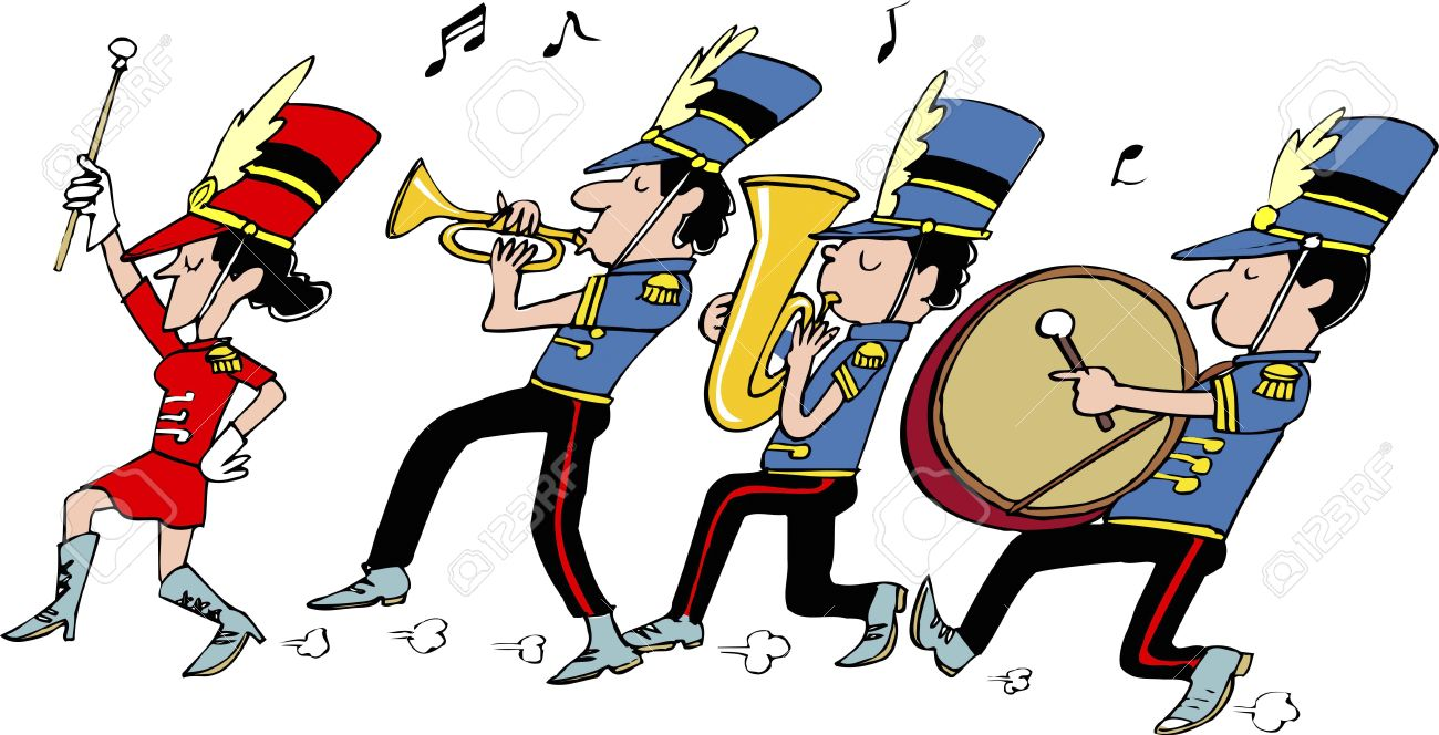 marching band stock photo picture and royalty free image image rh 123rf com marching band clipart silhouette marching clipart gif