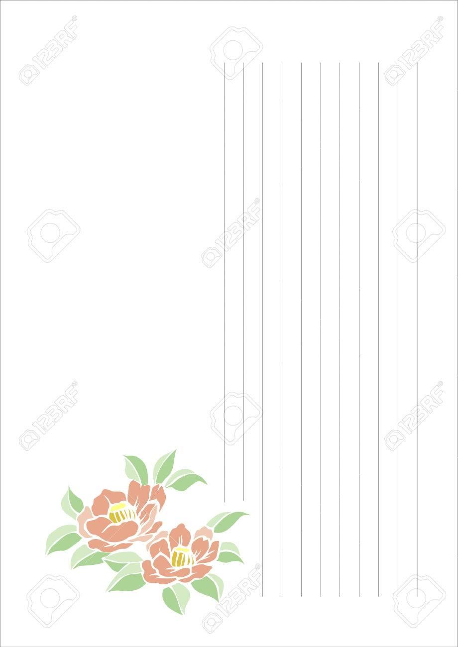 Großzügig Linierte Briefpapier Vorlage Bilder - Entry Level Resume ...