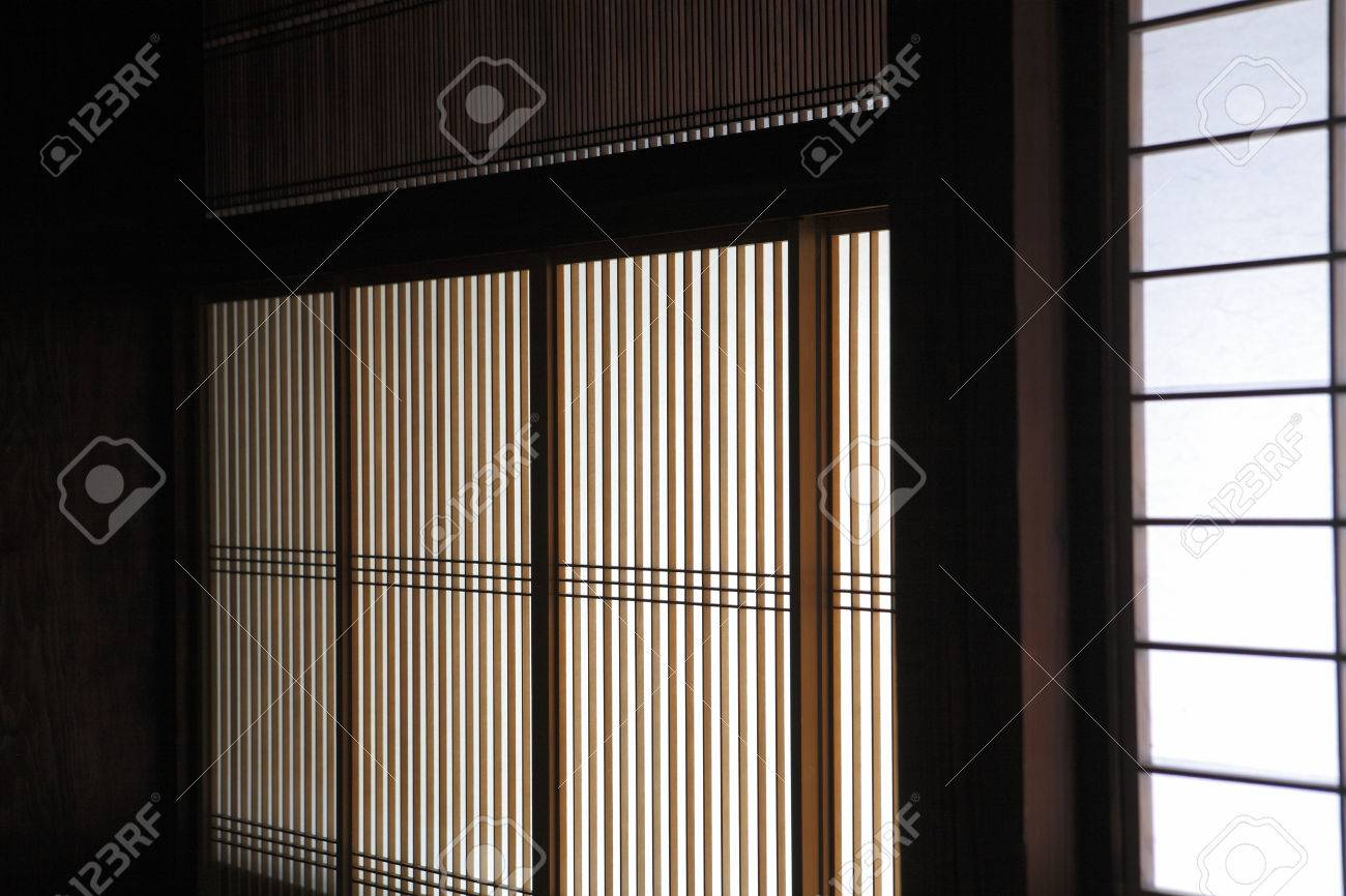 japanese style building lattice window stock photo picture and