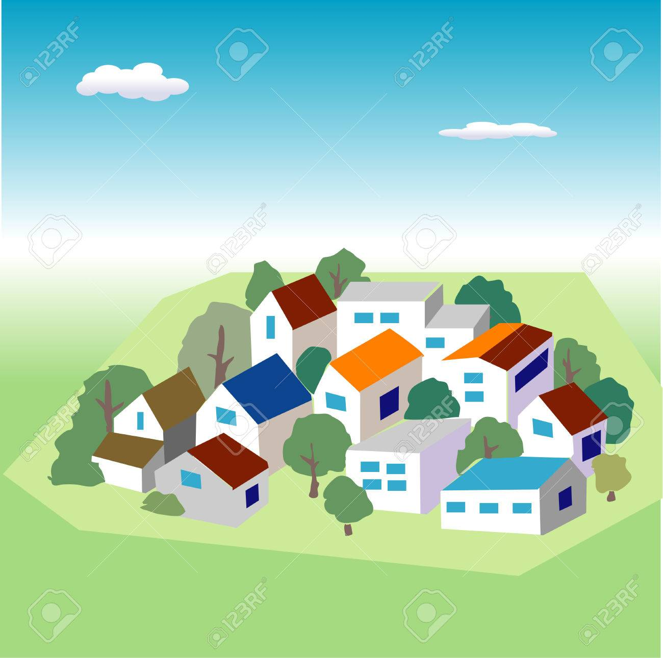 Residential area - 43165222