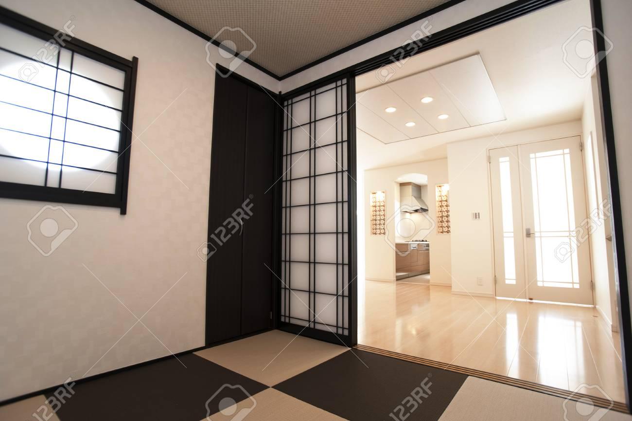 Cucina Da Camera In Stile Giapponese Foto Royalty Free, Immagini ...