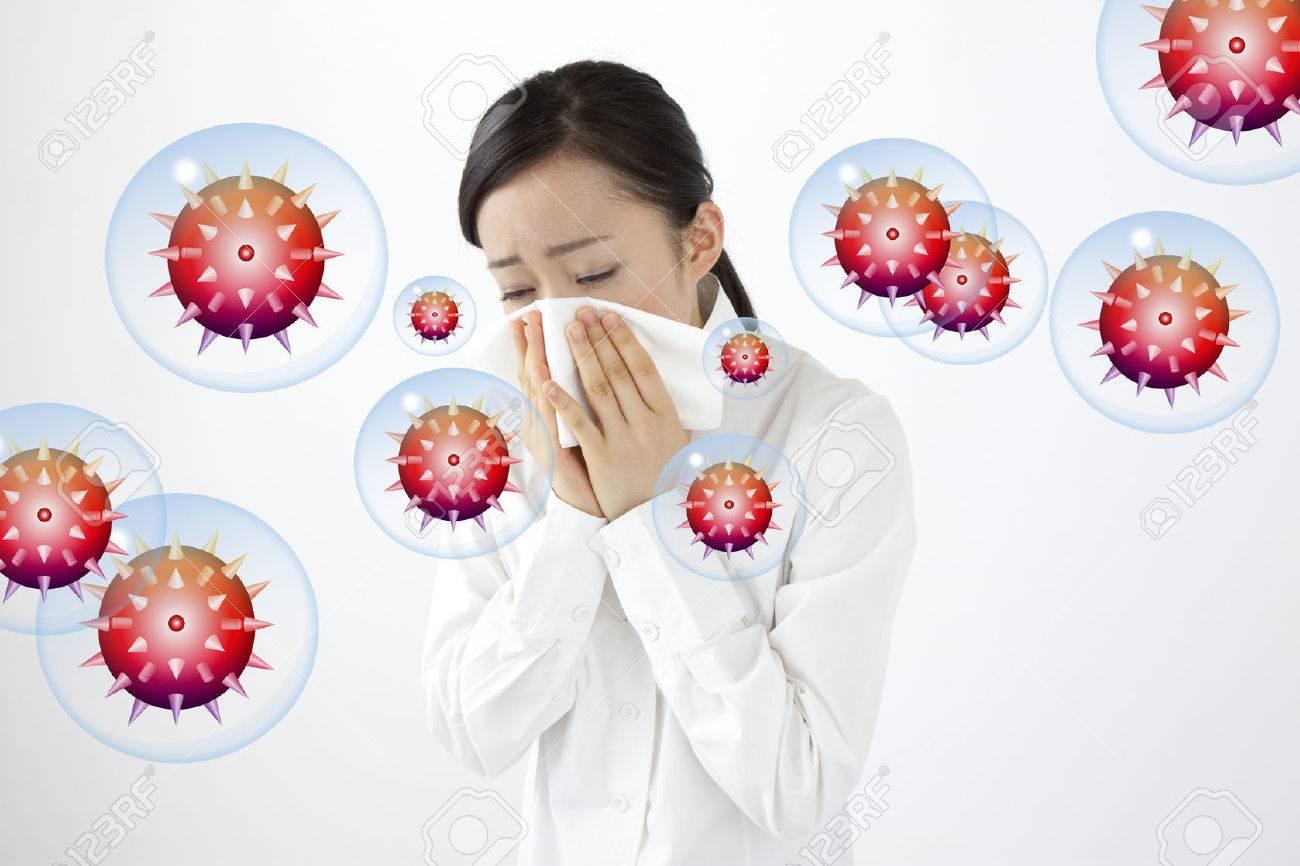 Influenza Standard-Bild - 49551532