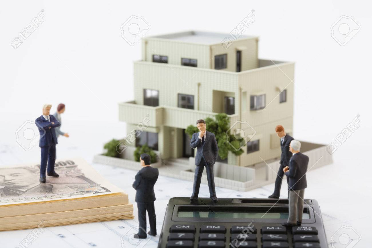 Think about the real estate business figures - 50344208
