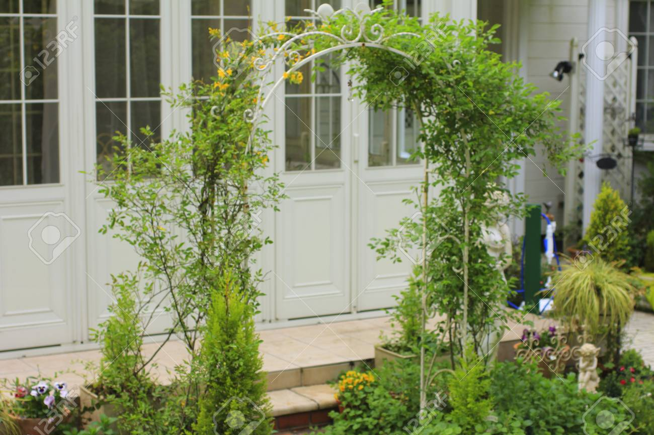 Arcos De Jardin Y Jardin De Invierno Fotos Retratos Imagenes Y - Arcos-de-jardin