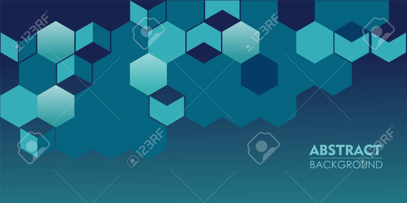 Elegance pattern abstract navy blue background for parallax effect