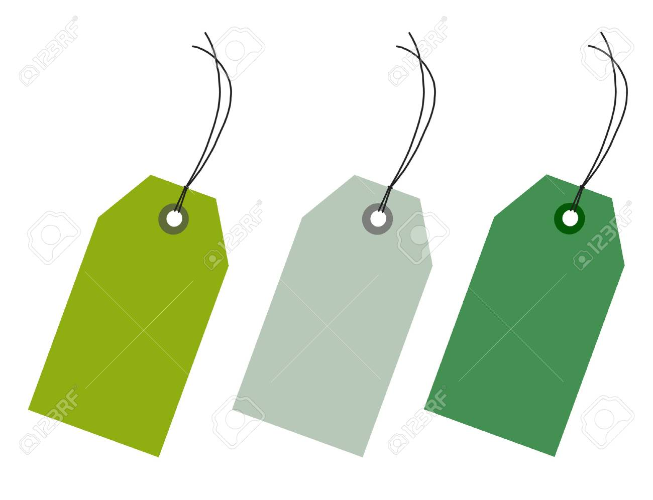 Empty sales tags Stock Photo - 5587542