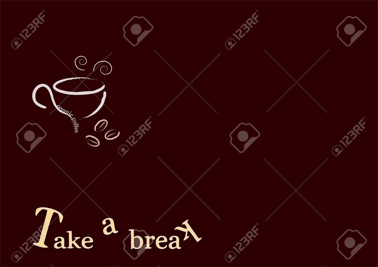 Drinking coffee when you take a break Stock Photo - 6471875