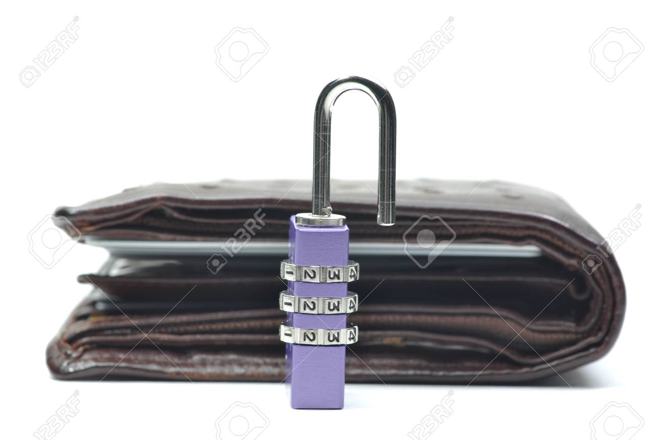 Abstract unlock your wallet Stock Photo - 8580709