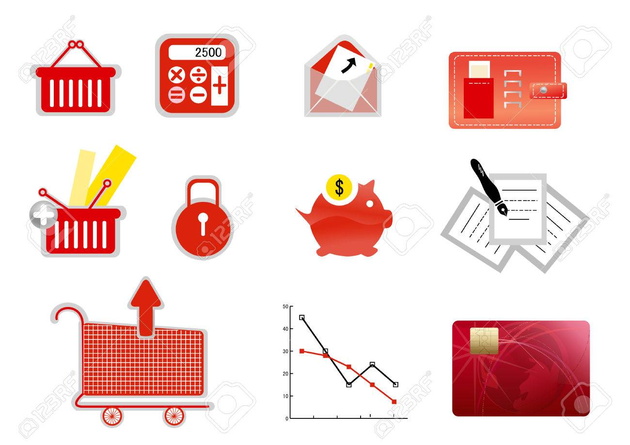 Business finance icon Stock Vector - 8871207