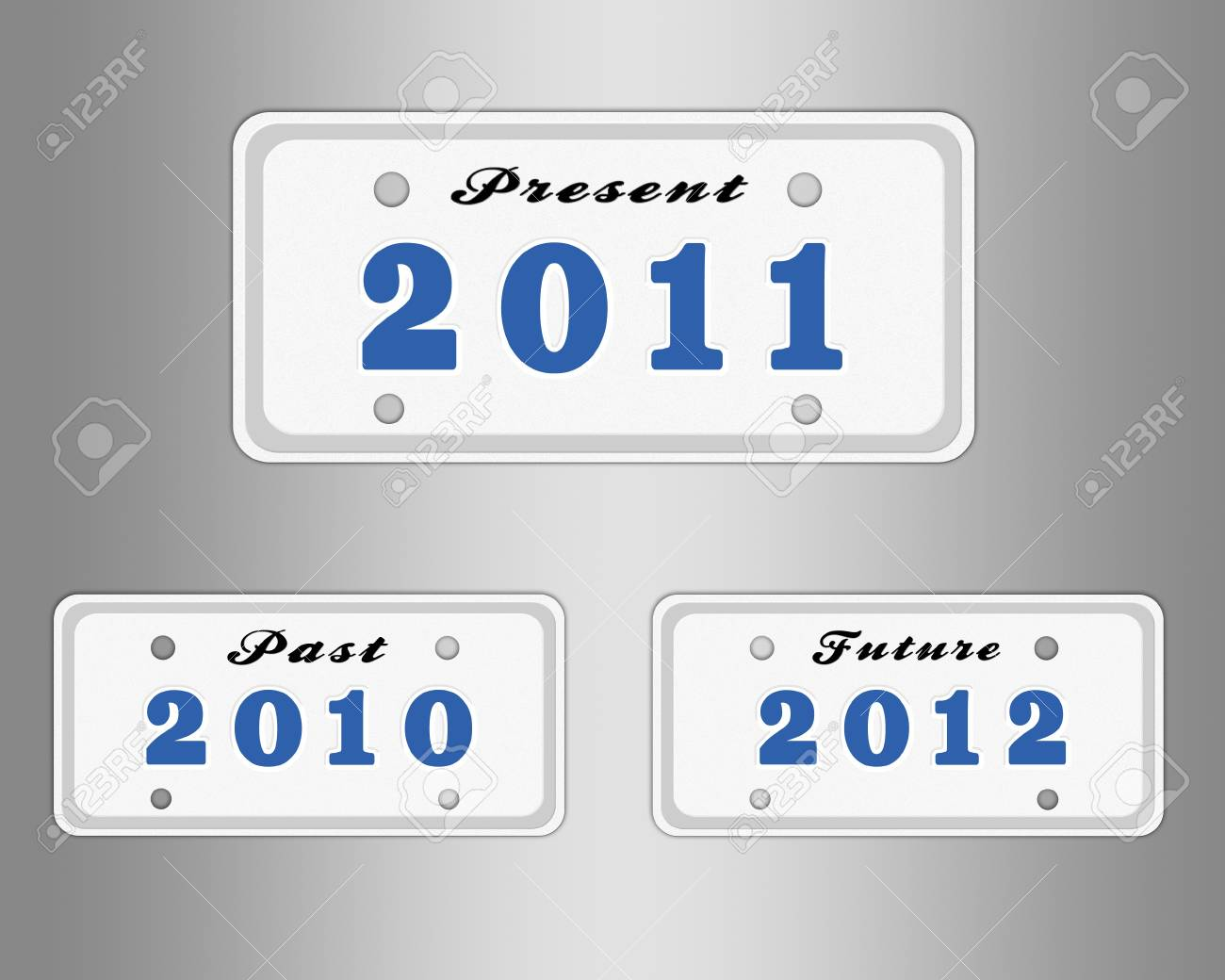 License Plate With Year Stock Photo, Picture And Royalty Free Image ...
