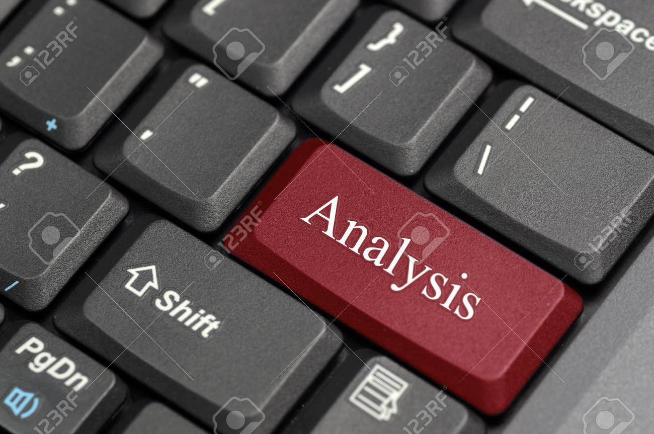 Analysis on keybaord Stock Photo - 16588455