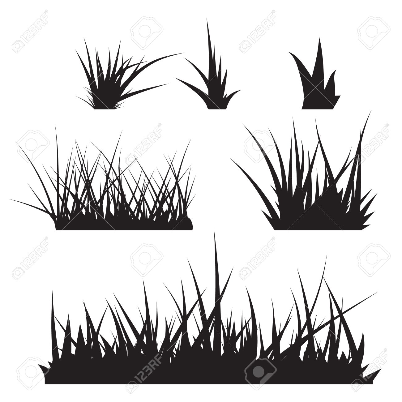 grass vector royalty free cliparts vectors and stock illustration image 42022010 grass vector