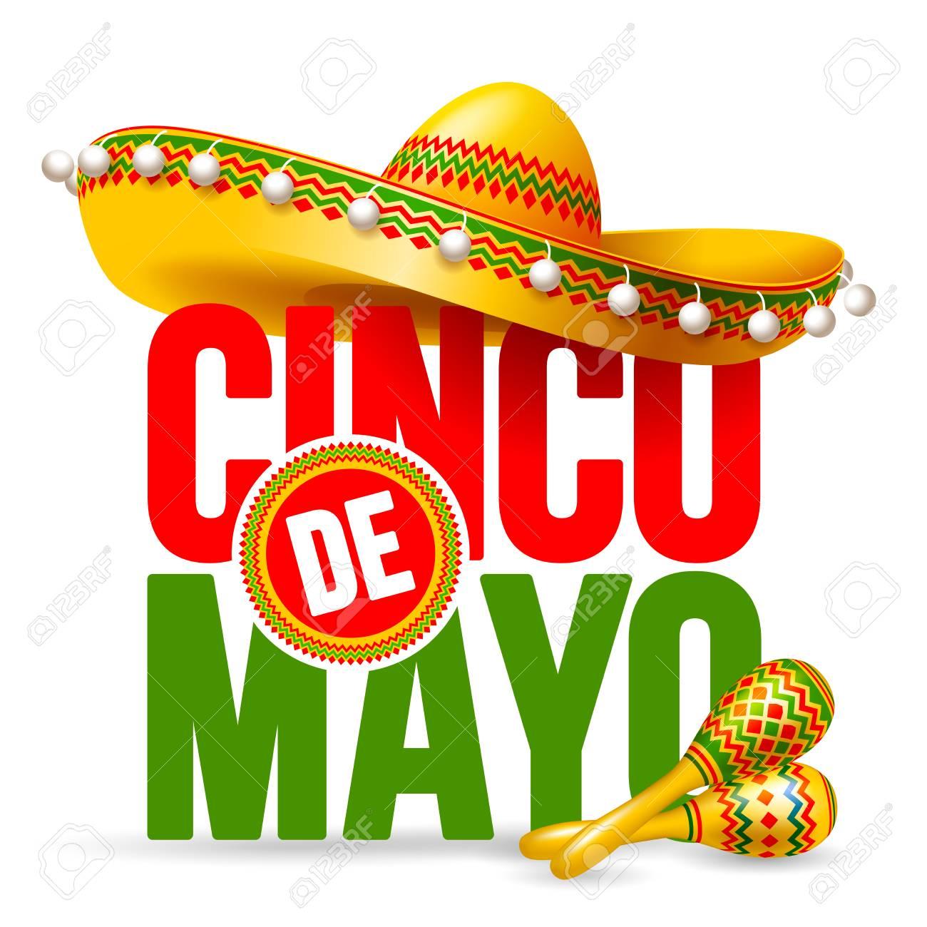Cinco De Mayo Emblem Design With ...