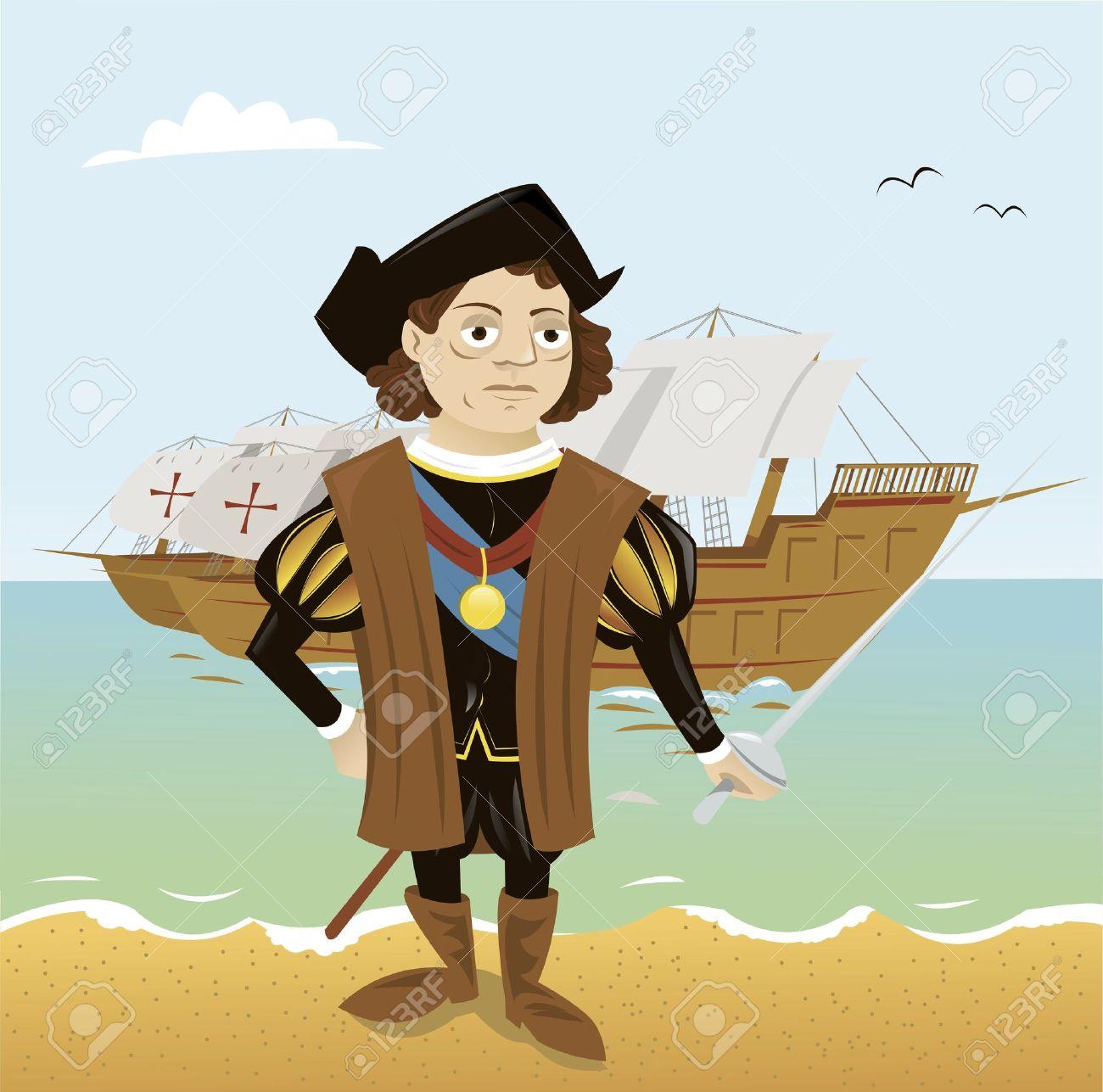 Christopher Columbus Stock Vector - 15616535