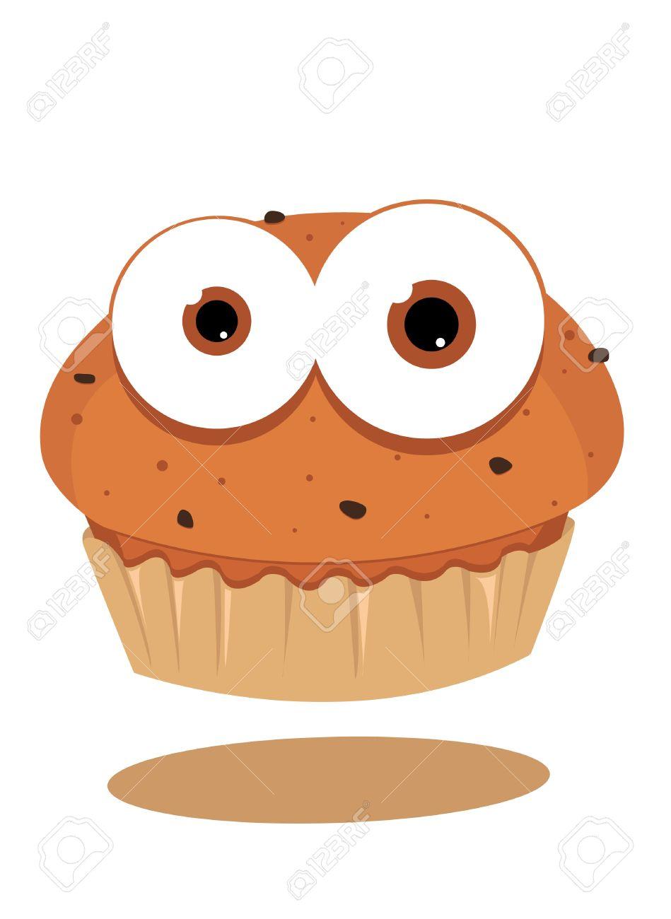 cute muffin looking at camera Stock Vector - 15616530