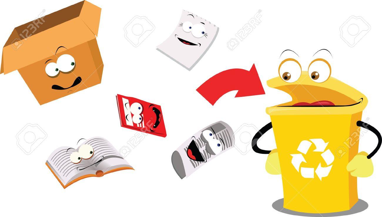 Как сделать из бумаги мусорку для кукол