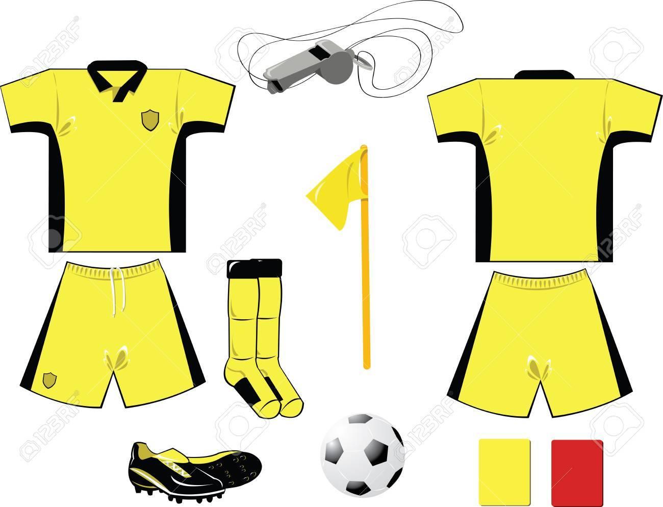 Yellow Arbiter Equipment Stock Vector - 22096137